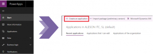 PowerApps aplicacion Power apps aplication visual studio programar progamming aleson itc microsoft base de datos sql server mysql oracle postgresql bi business intelligence azure ssis ssas ssrs Azure SQL Database datawarehouse stretch databases managed instance elastic pool data factory