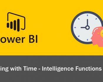 Working with time-intelligence functions