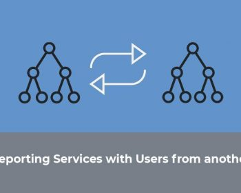 login in reporting services with users from another domain