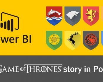game of thrones story in power bi