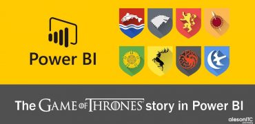 game of thrones story in power bi
