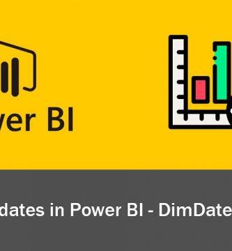 display your dates in power bi