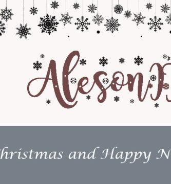 Aleson ITC os desea un feliz año nuevo - Merry Christmas from Aleson ITC