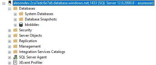 SQL Server - Azure User