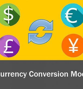 currency conversion model