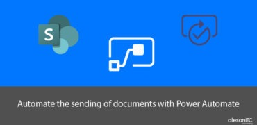 Automate the sending of documents with Power Automate