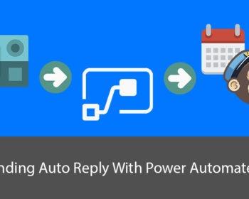 Sending auto reply with Power AUtomate